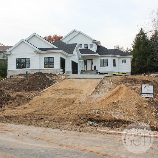 ATG&D Dream Home | Driveway & Front Stoop - All Things G&D