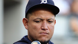 How far is Miguel Cabrera from baseball's 3,000-hit club?