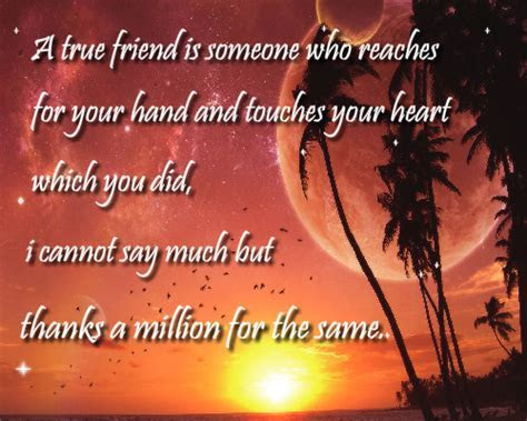 Thanks A Million. Free Friends eCards, Greeting Cards