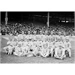 Posterazzi Chicago White Sox 1919 Nthe 1919 Chicago White Sox at Comiskey Park in Chicago Illinois Photograph 1919 Poster Print
