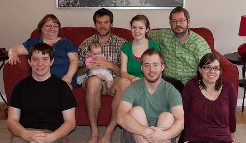 The Whole Family. May 22, 2011