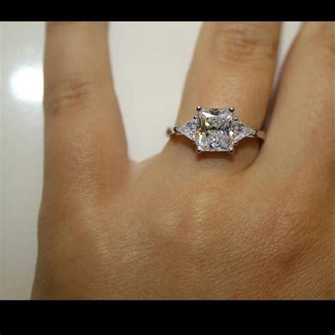 All Sizes Vvs1 3ct Cushion Cut Diamond Pt950 Engagement