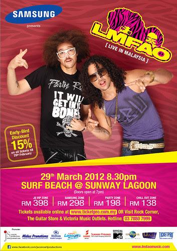 eventsnonstop.blogspot.com LMFAO Live in Malaysia 2012
