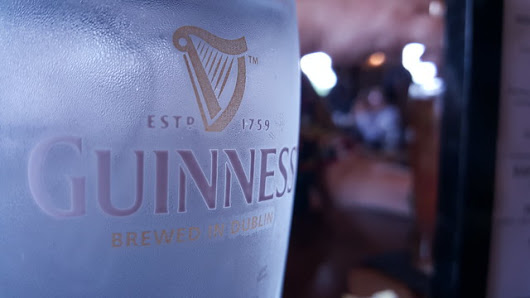 Glowing Guinness