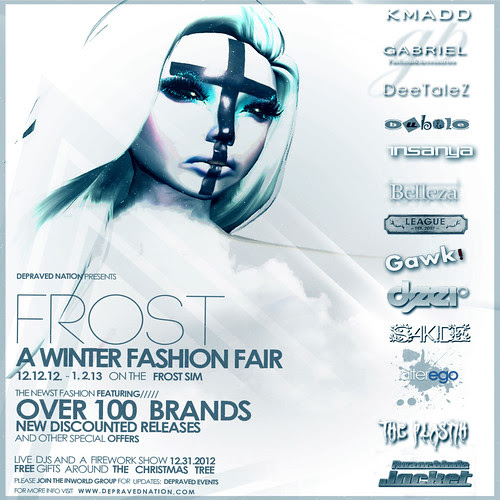 FRoST event Flyer- 12.12.12 to 1.2.13  by Babychampagne