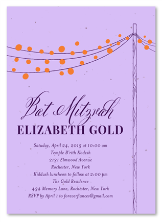 Lovely Night Invitations