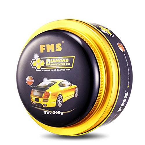 FMS Shiny Polishing Carnauba Paste Car Wax, Car Care, 10.6 ...
