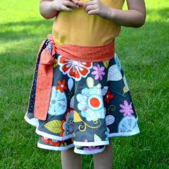 Toddler Wrap Skirt