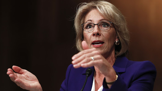 Why DeVos Won Her Battle To Head The Education Department