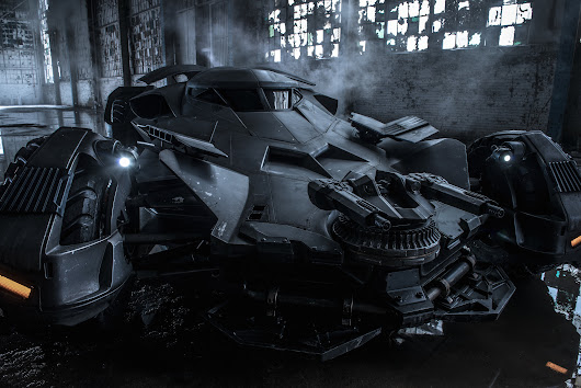 Look at Those Guns: Here's an Official Look at the Batmobile