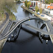 Melkwegbridge, Combo Bike and Pedestrian Bridge by NEXT Architects