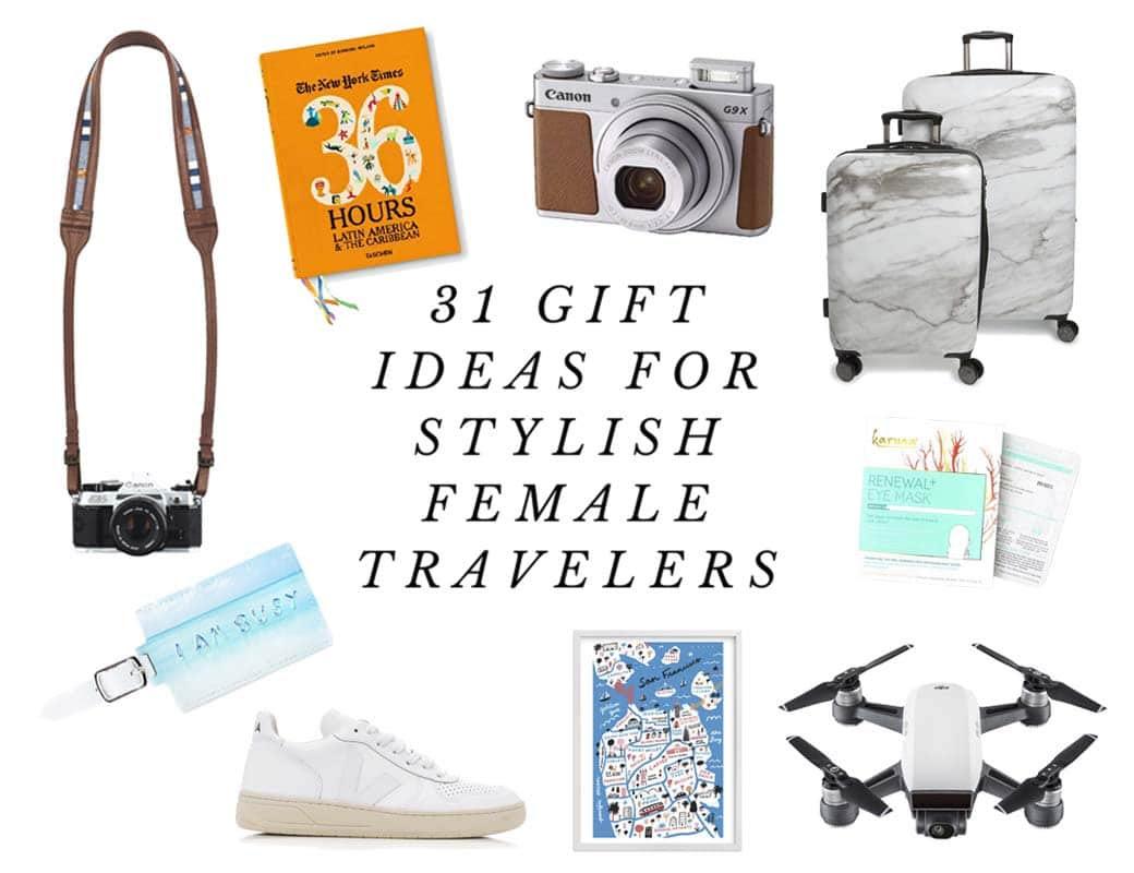 31 Stylish Gift Ideas For Female Travelers 2017 Edition Live Like