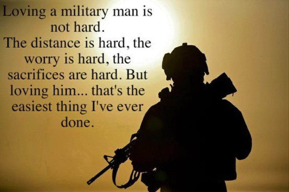 Loving A Military Man Pictures Photos And Images For Facebook