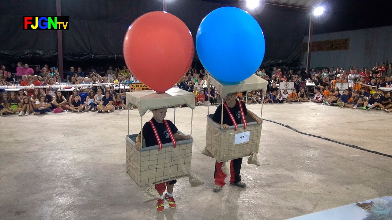 17. UN VIAJE EN GLOBO - Disfraces - Festa La Vila 2014 - La Vilavella
