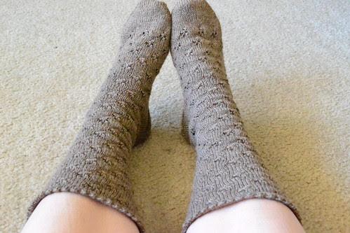 Eyelet Socks