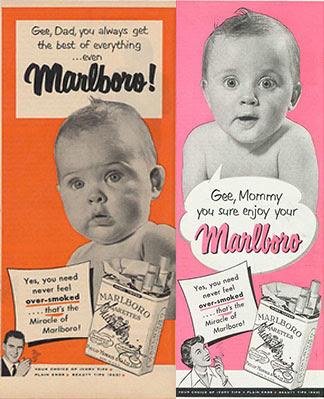 O cigarro mais amigo das crianças