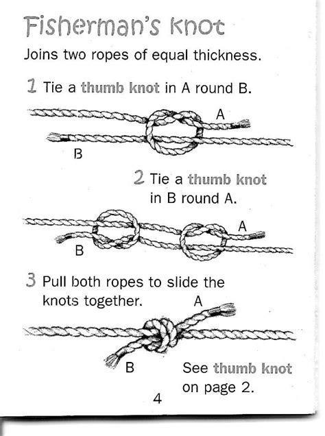 Best 25  Fisherman's knot ideas on Pinterest   Sliding