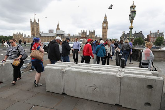 London bridges fitted with barriers after terror attacks
