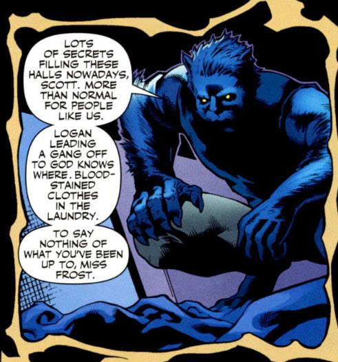 X-Men Dark Reign The Confession