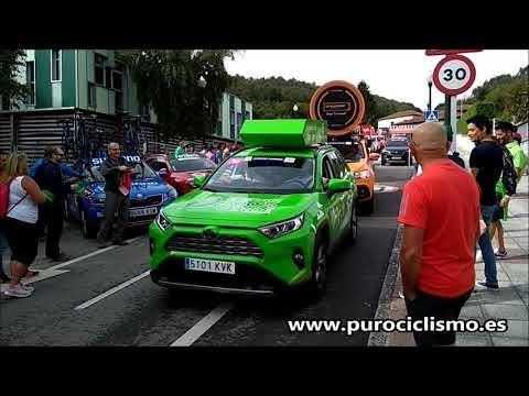 La caravana publicitaria de la Vuelta a España 2019