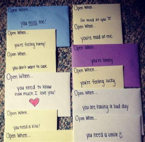 Creative Open When Letter Ideas & Designs   Valentines Day