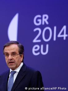 Antonis Samaras (C) picture-alliance/AP