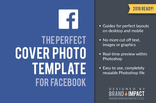 Facebook Cover Image Template by BrandImpactIO on Etsy