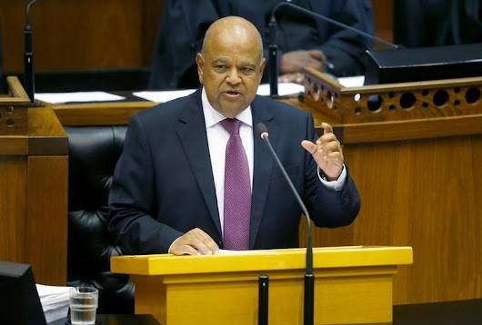 South Africa's Gordhan to court investors in Britain, U.S