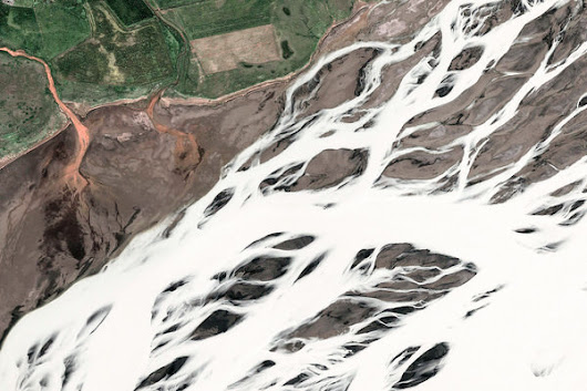 South, Iceland – Earth View from Google