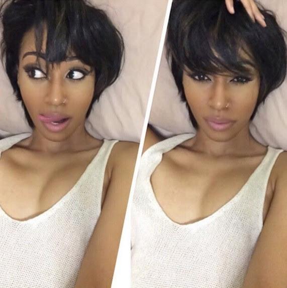 Cute Hairstyles For Short Straight Hair Black Girl Stylesummer
