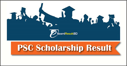 PSC Scholarship Result 2018 Primary Education