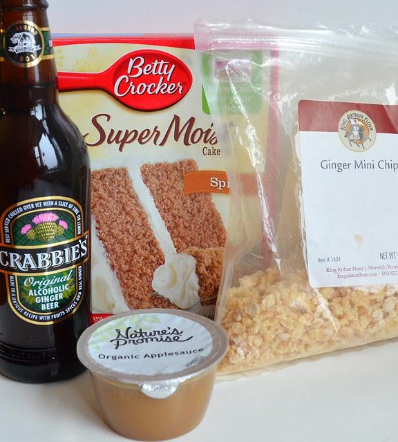 Ginger Beer Cupcake Ingredients