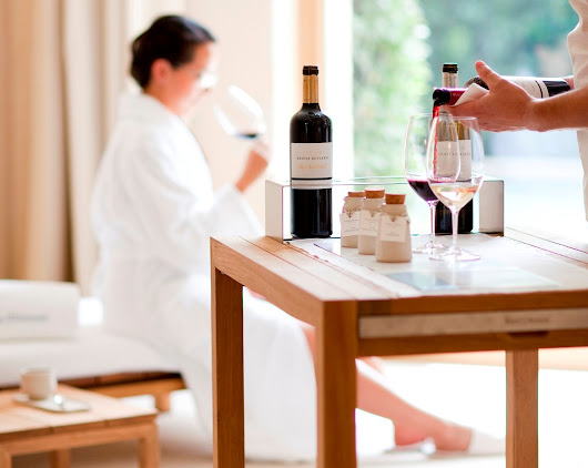 In Spain, A Spa Treatment With Wine