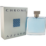 Chrome Azzaro EDT Spray for Men 3.4 oz