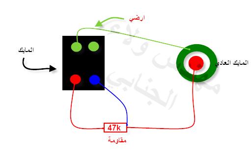 حل مشكلة المايك لجالكسي جراند i9082  مع المهندس ولاء الجنابي