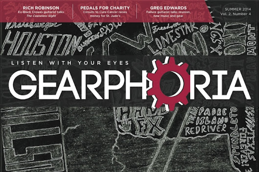 Support Gearphoria  creating a guitar magazine