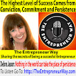 701: The Highest Level of Success Comes from Conviction, Commitment and Persistence with Debra Jason Founder and Owner of the Write Direction - The Entrepreneur Way