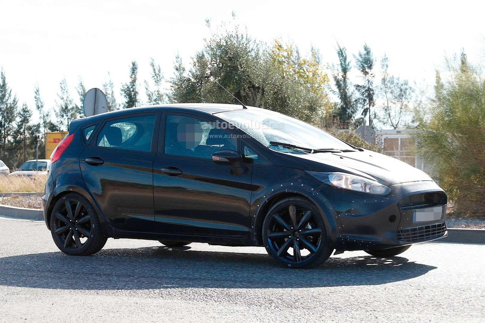 Ford Fiesta 2017 Mule Spied Pictures | 2017 - 2018 Best Car Reviews