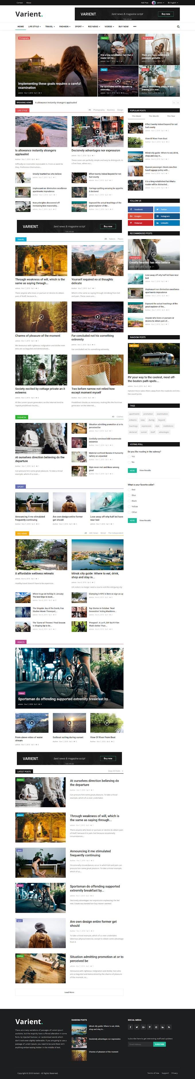 Download Script Blog + Auto Grab Konten Berita PHP