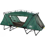 Kamp-Rite Oversize Tent Cot Folding Outdoor Camping Hiking Sleeping Bed, Green by VM Express