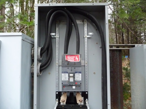 Electrical Feed To Panels
