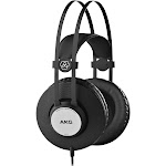 AKG K72 Over-Ear Headphones - Matte Black
