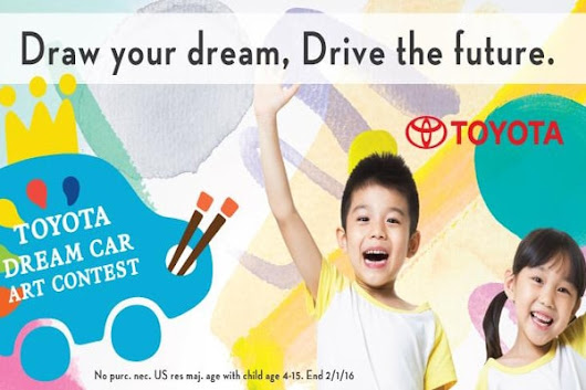 Toyota Dream Car Art Competition Taking Submissions Now
