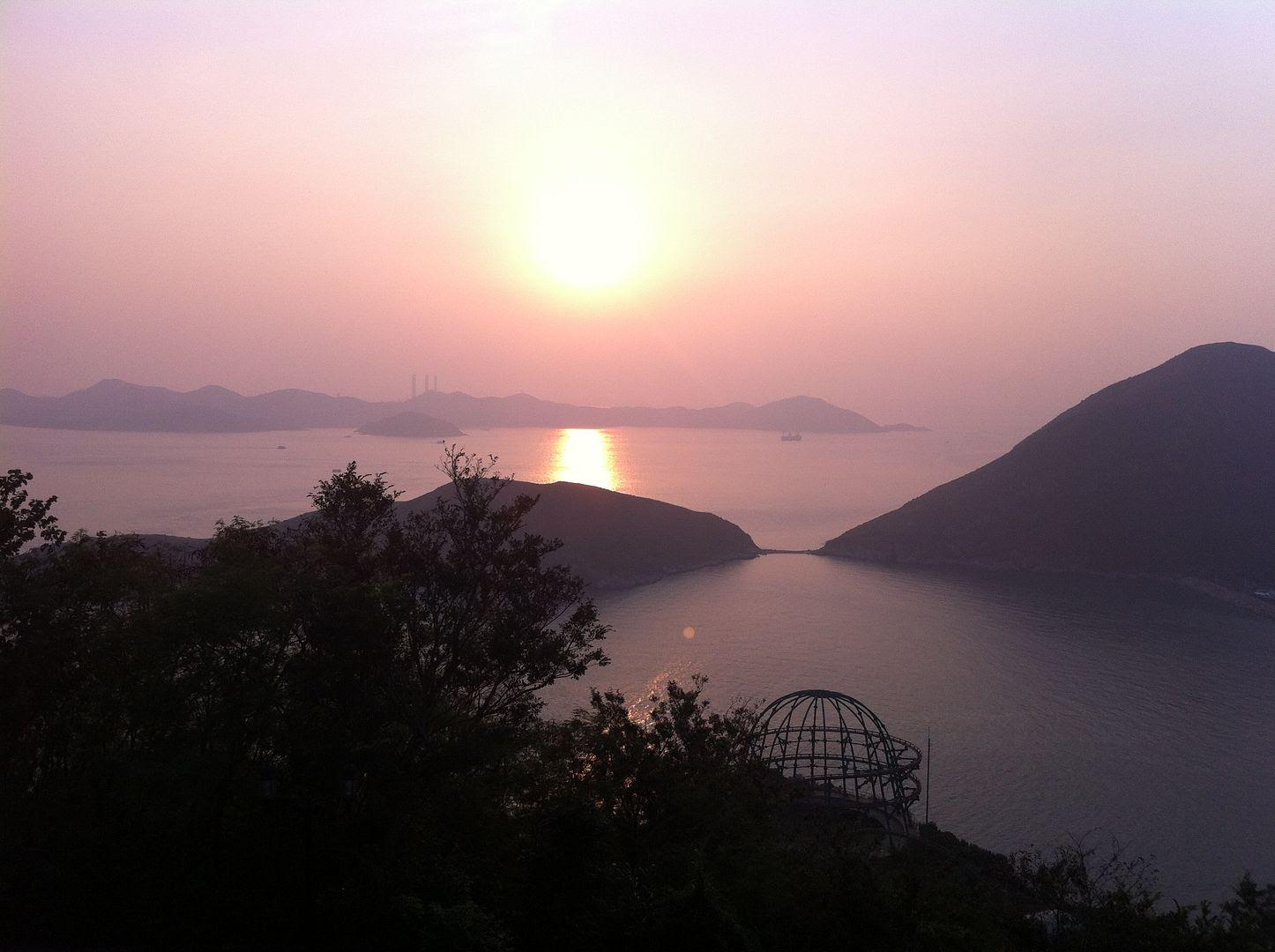 Sunset at Ocean Park in Hong Kong photo 2013-10-021738_zps87c65b81.jpg