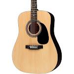 Rogue RA-090 Dreadnought Acoustic Guitar, Natural