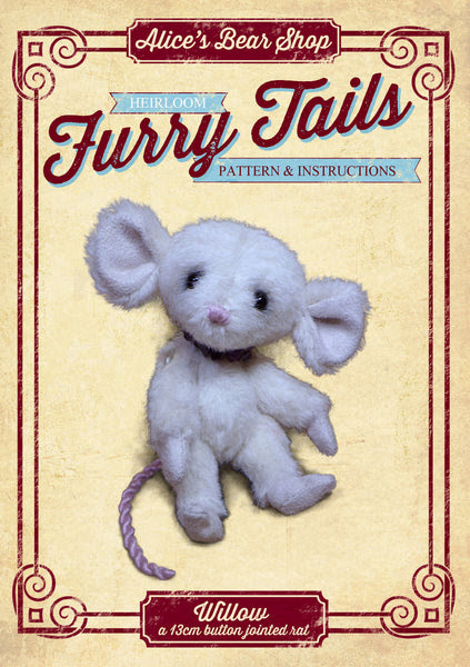 Rat Mouse Making Pattern and Instructions Download – Alice's Bear Shop
