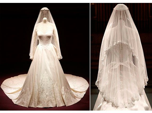 Now You Can See It Live At The Royal Wedding Dress A Story Of Great British Design Exhibition