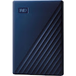 WD - My Passport for Mac 2TB External USB 3.0 Portable Hard Drive with Hardware Encryption (Latest Model) - Blue