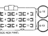 1980 Toyota Pickup Fuse Diagram