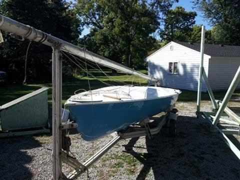 Chrysler Buccaneer 18 feet, 1970?, Grosse Ile, Michigan, sailboat for